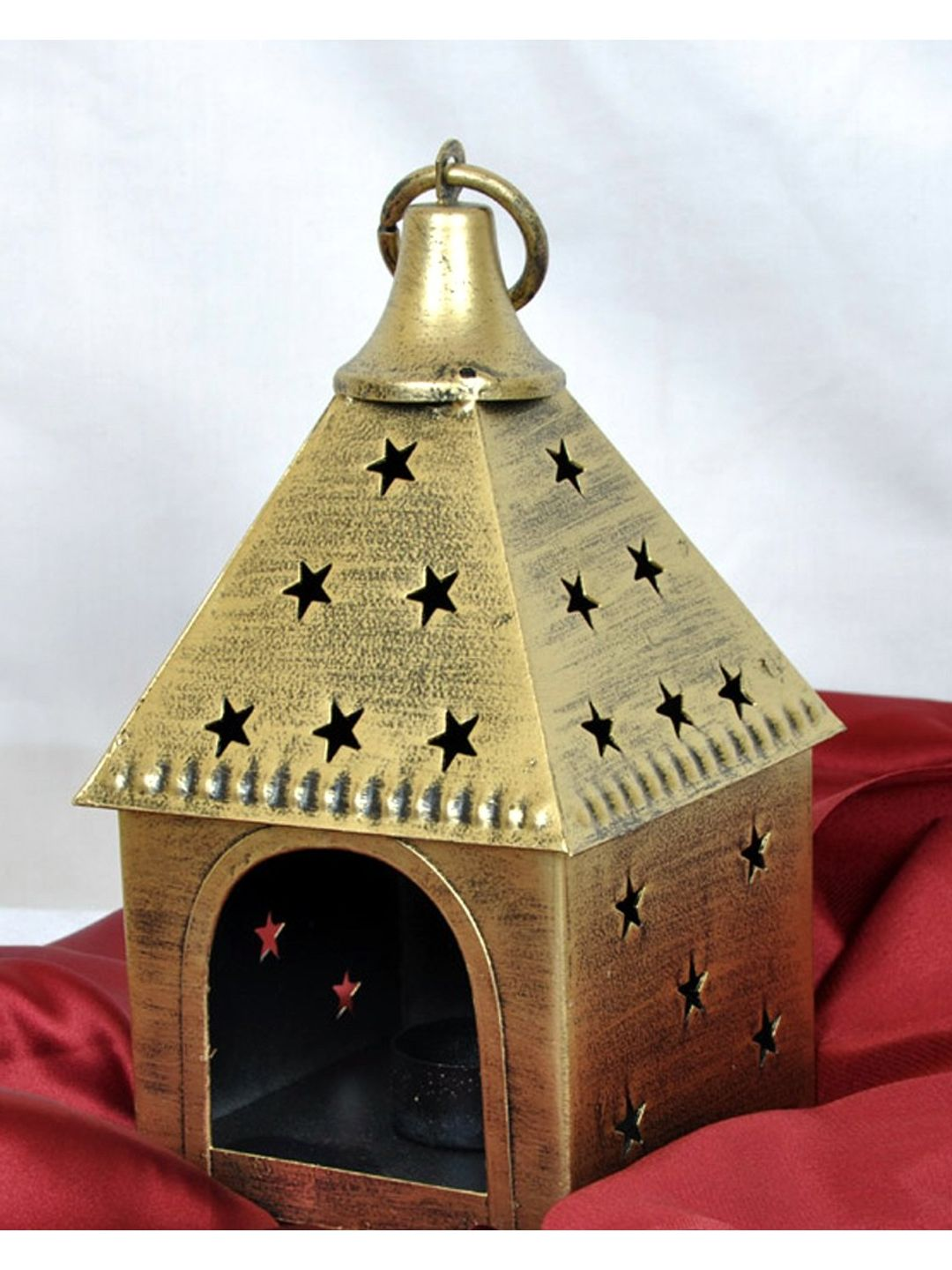 Antique Star Hut Tea Lite decorative