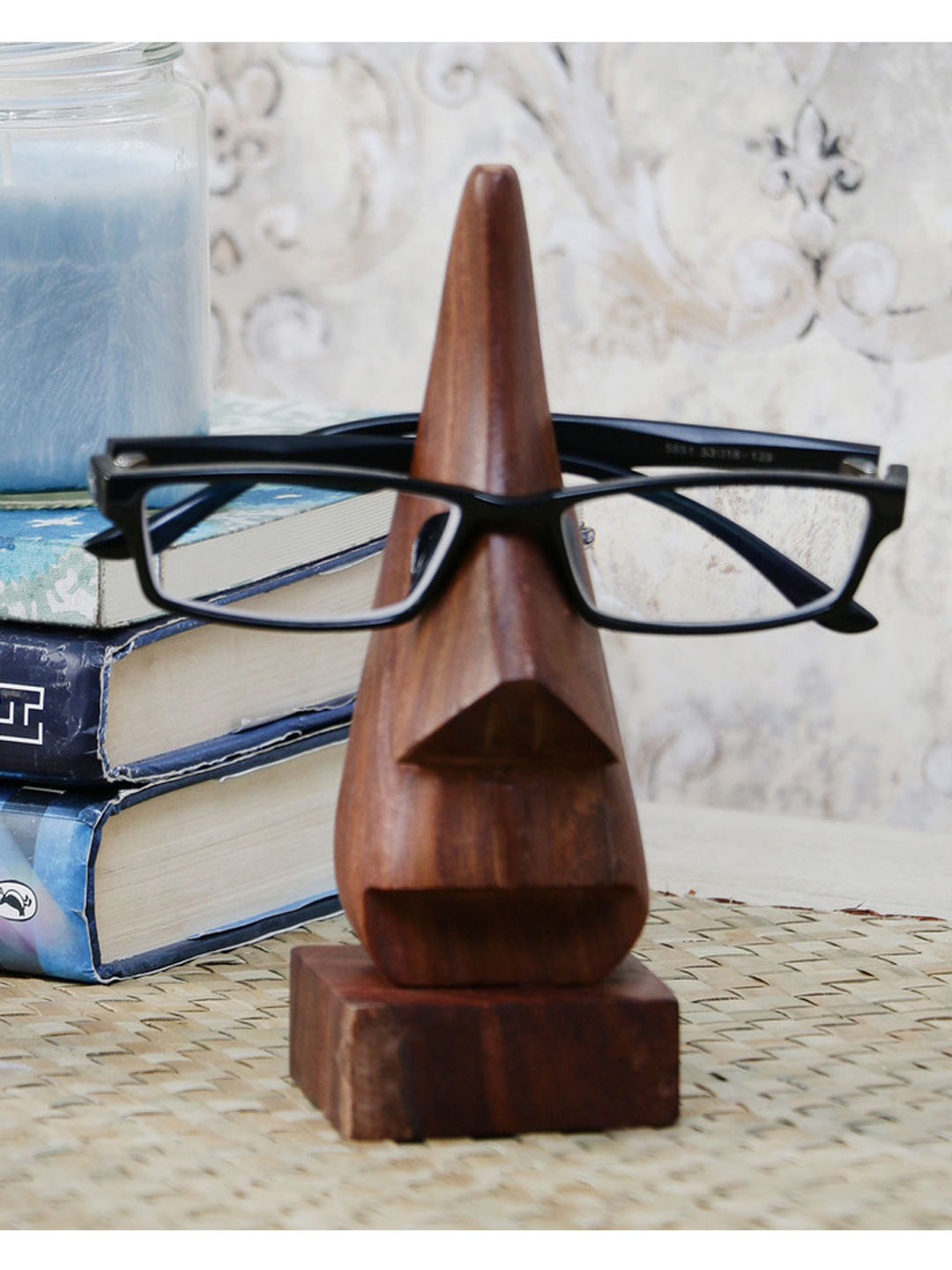 Handcrafted Wooden Spectacle Holder
