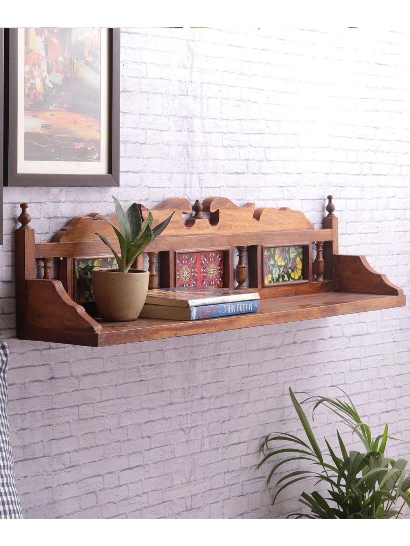 Rajasthani Tiled Wall Shelf