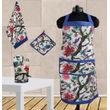 Floral Bird Printed Set - 4 Pcs by Dekor World