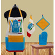 My Happy Kitchen Apron (Pack of 4) by Fun Club