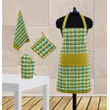 Owl Printed Apron Set (Pack of 4 Pc) by Dekor World