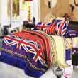 3D Multi Printed Double Bedsheet W/Pillow Cover-Pack of 3 Pcs by Dekor World