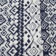 Cotton Blue Printed Bedsheet Set-Pack of 3 Pcs by Dekor World