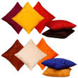 Dekor World Multi Delight Combo. Cushion Cover (Pack of 10)