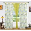 Multi Car Printed Cotton Loop Curtain Set (Pack of 3)by Dekor World