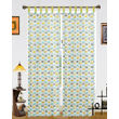 Car Printed Cotton Loop Curtain Set (Pack of 2 Pcs)by Dekor World