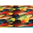 Velvet Digital Printed Diwan Set (Pack of 8 Pcs) by Dekor World
