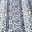 Abstract Printed Cotton Blue Diwan Set (Pack of 6) by Dekor World