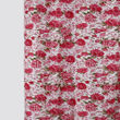 Floral Printed Blue Cotton Fabric by Dekor World  (MORE COLOR)