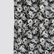 Floral Printed Black Cotton Fabric by Dekor World  (MORE COLOR)
