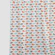 Multi Bird Cotton  Fabric by Dekor World