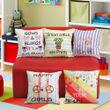 Fun Club Kidz Girls Digital World Cushion Collection (Pack of 5 Pcs)