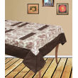 Dekor World Floral Printed Table Cover With 4 Pcs Place Mat
