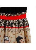 Hot selling Doll Printed Maxi Dress
