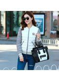 Trendy Padded Jacket -White- KP001409