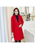 Turndown collar Woolen Coat - KP001806