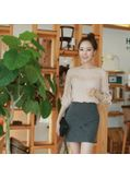 Solid Blouse - KP001608