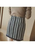 Fringed Skirt - KP001642