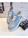 Denim Lace Up Shoes - KP001684