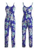Beautiful Floral Cotton Jumpsuit - KP001709