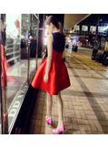 Cute Red & Blue Dress - KP001730