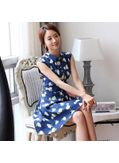Pretty Floral Printed Dress - KP001735