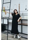 Casual long Mid Calf Dress - KP001880