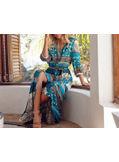 Boho Print Maxi Dress - KP001883