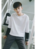 Korea Style Loose Tee - KP001937