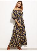 Floral Maxi Dress - KP001983