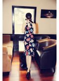 Floral Sleeveless Dress - KP001995