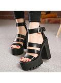 Chunky Platform Heels - KP002041