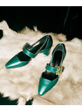 Square Buckle Sandals - KP002051
