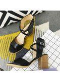 PU Block Heels - KP002061