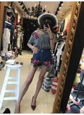 Embroidery T-shirt + Shorts - KP002086