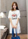 Bulldog Print T-shirt - KP002096