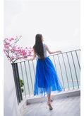 Hot Selling Vintage Gauze Gown - KP002115