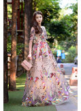 High End Embroidery Gown - KP002116