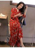 Hot Selling Floral Maxi Dress - KP002125