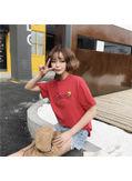 Smily Print T-shirt - KP002132