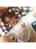 Cute Rose Printed Cotton T-shirt - KP002136