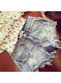 Studded shorts - KP001639