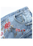 Hot Selling Embroidery Denim - KP002008