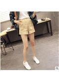 Khaki Cotton Shorts - KP002011
