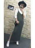 T-shirt + Slit Maxi Dress - KP002170