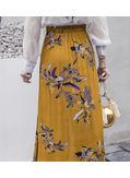 Fish Tail Printed Skirt - KP002199