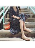 Summer Printed Long Dress - KP002193
