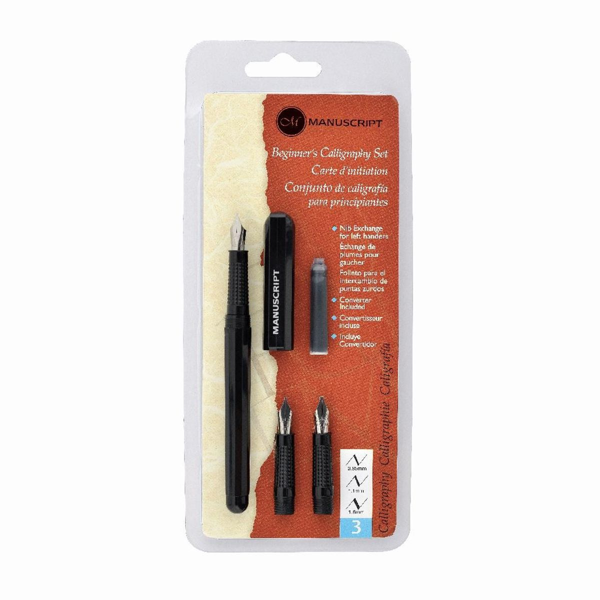 Manuscript Beginner 39 S Calligraphy Fountain Pen Set