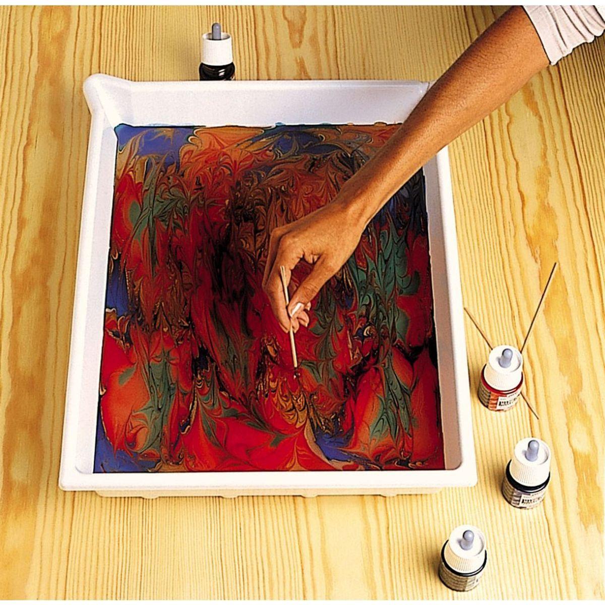 Pebeo Marbling Paint 45 Ml Bottle Sienna 07